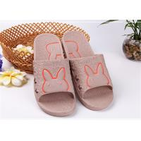 Best Colorful Cute Comfortable House Slippers With Bunny Rabbit Pattern Customized Size wholesale