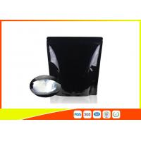 Best Custom Printed Coffee Bags Black Tea Zipper Resealable Stand Up Pouches wholesale