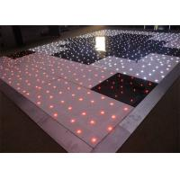Details Of Acrylic Tricolor Rgb Dance Floor Stage