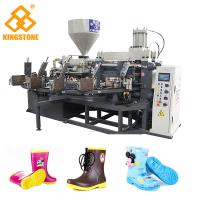 Best 1 color Rotary Plastic Shoes/boots Making Machine for kids boots with 2 Years Guarantee wholesale