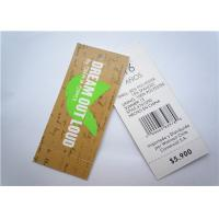 Best Recyclable Clothing Label Tags Jeans Paper Hang Tag Garment Accessory wholesale