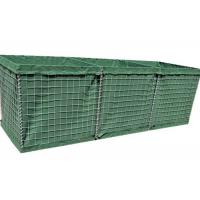 Best Low Carbon Steel Wire Mesh Gabion Box System For Security And Defence Walls wholesale