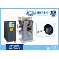 Best Hwashi Chinese Supplier good Cookware 304 Stainless Steel spot Welding Machine For Pot Handle wholesale