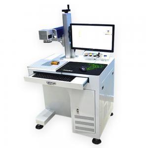 Best desktop Fiber Laser marking machine Connected to the computer/laser marking machine metal wholesale