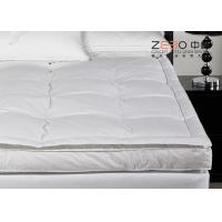 Cheap Comfortable Home Hotel Pillow Top Mattress Pad OEM / ODM Available for sale