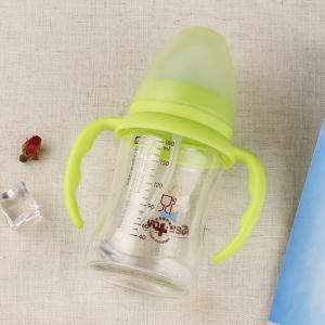 Best Comfortable Baby Sipper Water Bottle , Shatterproof Non Spill Bpa Free Milk Bottles 240ml wholesale