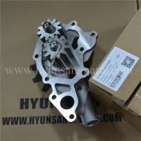 Best VH151102150A Excavator Engine Parts 15110-2150A J08 Small Oil Pump For Kobelco SK330-8 SK350-8 wholesale