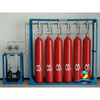 Best Marine CO2 Fire Suppression Systems Dry Chemical Red RAL3000 wholesale