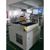 Quality Professional 50W Metal Laser Marking Machine , Crossing Moving Working Table wholesale