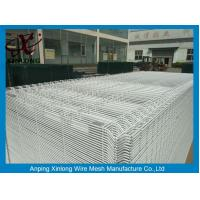Cheap White Color Hot Dipped Wire Mesh Fence With ISO9001 2008 Certificate for sale