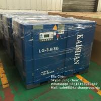 Best Industrial KAISHAN 30HP 8Bar Direct Driven Screw Air Compressor Air Cooling wholesale