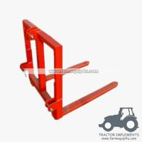Best Tractor implements 3 point Pallet Mover bale mover wholesale