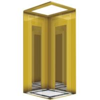 Best 4 Persons 320KG Personal Home Elevators / Luxury Villa Lift All Glass Type wholesale