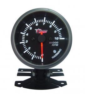 "Best 20 LED Psi / Bar Oil Press Pressure Meter Universal Auto Gauges 2"" 52mm Black wholesale"