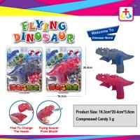Best Flying dinosaur with toy candy , compress candy or jelly beans wholesale
