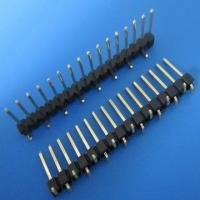 Buy cheap 1.27mm/ 2.0mm/2.54mm right angled pin male header connector,smt socket from wholesalers