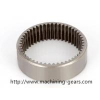 Metallurgy Machinery Teeth Internal Gear / Stainless Steel Starter Motor Ring Gear