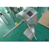 Best 2016 Semi - Automatic Vertical Tripod Turnstile Gate / Turnstile Security Gates / Security Arm Barrier Tripod wholesale