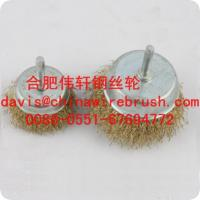 Crimped Wire Cup Brushes with Shank