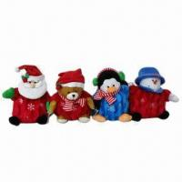 Best Christmas Toys in Santa, Bear, Penguin and Snowman Shapes, Available with 27cm Height wholesale