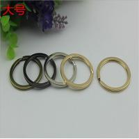 Best Manufacturing various color iron key chain accessories 29 mm small split key ring wholesale