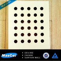 Best Ceiling Tiles Board and Round Hole Perforated Metal wholesale