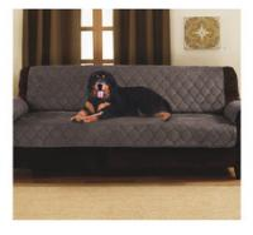 Dark Brown Waterproof Memory Foam Dog Bed 2 Sizes Double Sofa Bed Protector