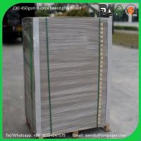 China High quality 230gsm,250gsm, 300gsm, 350gsm,400gsm White Clay Coated Cardboard on sale