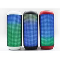 Cheap Stereo Outdoor Light Up Bluetooth Speaker Mini Colorful 3 Watt 10 M Receive Range for sale