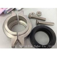 China ASME SA270 Stainless Steel Sanitary Pipe Fittings Elbows For Food Line on sale
