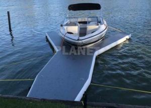 Best 6m Long Drop Stitch Floating Y Shape Inflatable Y Jet Ski Dock Pontoons Platform For Boat And Yacht Parking wholesale
