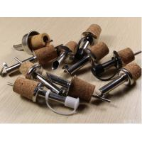 Best 2016 Best Selling Cork Stainless Steel Oil/Wine Pourer with Cork Stopper wholesale
