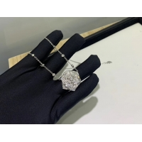 Best Piaget Rose Pendant With 18k Gold Chain , Women'S Piaget Diamond Necklace luxury jewelry for sale wholesale