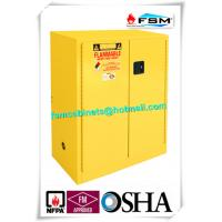 Best Lockable Safety Storage Cabinets Adjustable Fireproof Vents For Flammable Liquids wholesale