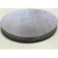 Best FeCrAl Stainless Sintered Mesh Screen  Filter Disc For Hydraulic Oil Filter wholesale