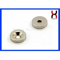 Best Custom Countersunk Rare Earth Magnets , Strong Countersunk Neodymium Magnets wholesale