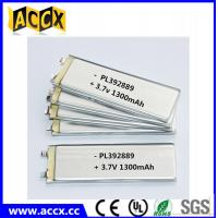 Best PL392889 3.7V 1300mAh lithium polymer battery wholesale