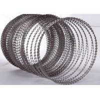 High Security Fence Stainless Steel Razor Wire For Railway Stations /  Penitentiaries