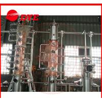 Best Custom Steam Industrial Copper Distillation Equipment 1-3Layers ISO9001 wholesale