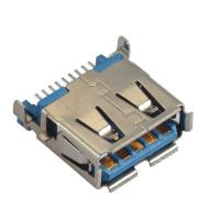 Best Computer Pin Connectors Right Angle SMT blue color  Sink Style 3.5mm LCP UL94V-0 wholesale