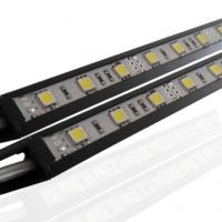 Best DC12V 9W Waterproof Aluminum Bright SMD CE ROHS Rigid Led Light Bars With Mounting Clips wholesale