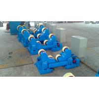 Best Motorized Moving Sand Blasting Pipe Welding Rollers For 400×120mm Rubber Wheels wholesale