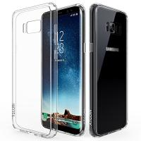 Buy cheap Scratch Resistant Flexible TPU Gel Rubber Soft Silicone Samsung Galaxy S8 Cover from wholesalers