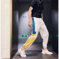 Best Outdoor Polyester Mens Leisure Pants Sport Trousers Elasticated Waist Breathable wholesale