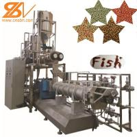 China 100kg-6t/H Fish Feed Extruder Pellet Machine Production Line Low Electricity on sale