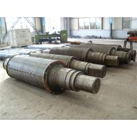 Copper / Aluminum Belt Rolling Mill Rolls of 42CrMo 450 - 800mm Diameter ISO 9001 - 2008