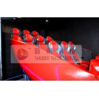 Best Vibration Effect 5D Simulator With Red Color Movable Seat wholesale