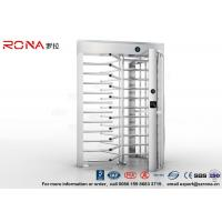 Best High Security Turnstile Full Height Stainless Steel Access Control For Prison wholesale