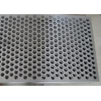 Best Custom Size Perforated Metal Mesh 40% - 81% Filter 304 /316 Stainless Steel wholesale