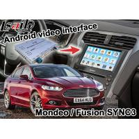 Buy cheap Mondeo Fusion SYNC 3 Auto Navigation System Android Map Google Service with from wholesalers